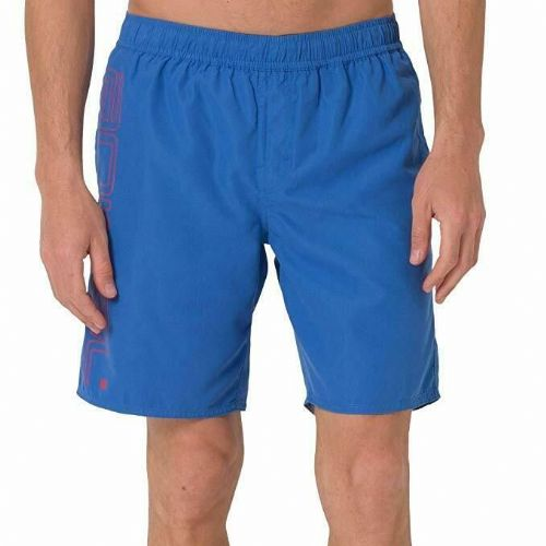 "ANIMAL MENS SHORTS.NEW BELOS 18"" BLUE LINED SWIM ELASTICATED SWIMMERS 9S 2/X69"
